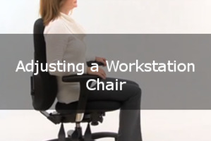 How to Adjust a Workstation Chair